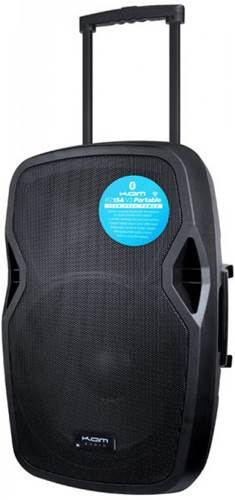 Kam RZ15AP Portable 15 Inch Active Speaker with Bluetooth 1000w (Single)