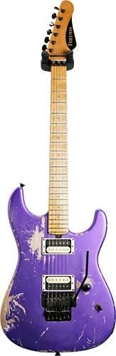 Friedman Cali HH Metallic Purple Birdseye Maple Fingerboard
