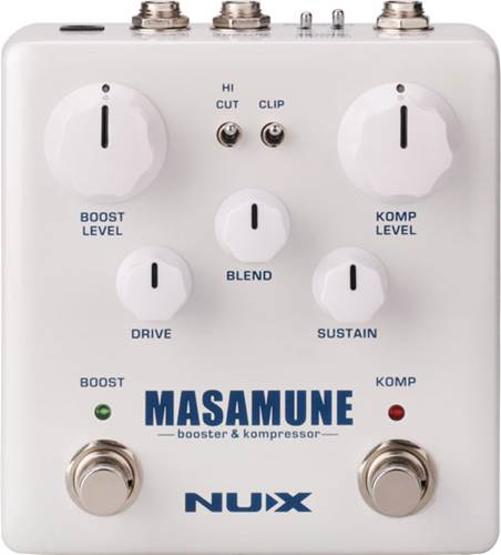 NUX Masamune Boost and Compressor Pedal
