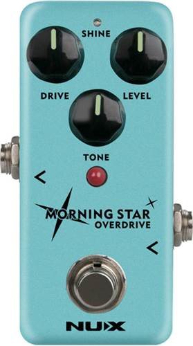 NUX Morning Star Overdrive Pedal