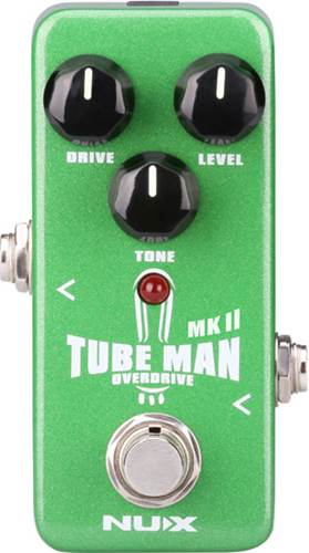 NUX Tube Man MkII Overdrive Pedal