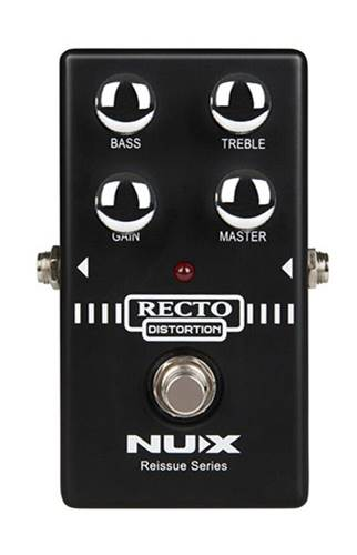 NUX Reissue Recto Distortion Pedal