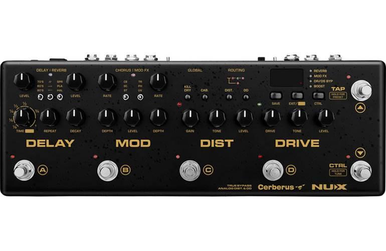 NUX Cerberus Guitar Multi Effects Pedal