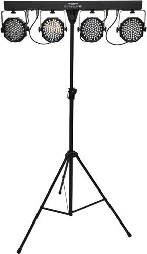 Kam LED PartyBar V2 inc lights, stand, carry bag & controller