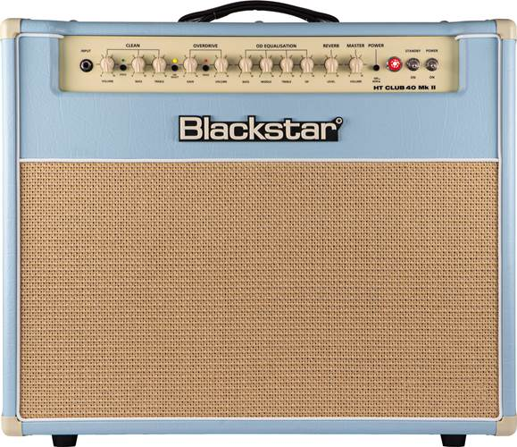 Blackstar HT-Club 40MkII Black and Blue Limited Edition