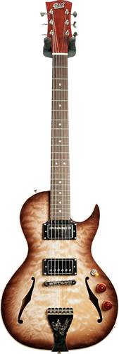 B&G Step Sister Cutaway Quilted Maple HH Wolf Burst #CR201000071