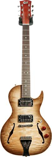 B&G Step Sister Cutaway Quilted Maple HH Wolf Burst #CR201000205