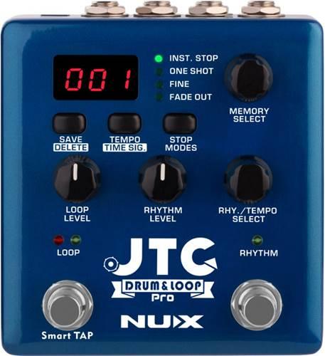 NUX JTC Drum and Loop PRO Dual Looper Pedal