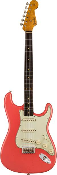 Fender Custom Shop Limited Edition 1961 Hardtail Stratocaster Journeyman Relic Faded Aged Fiesta Red