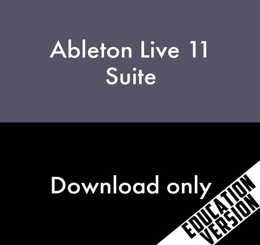 Ableton Live 11 Suite Education Version (Download, serial number only)