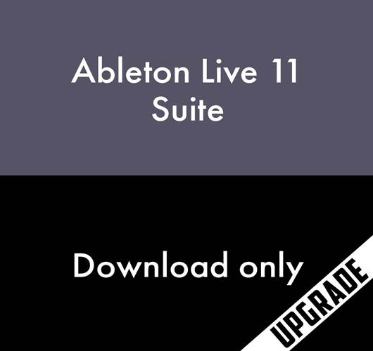 Ableton Live 11 Suite, Upgrade from Live Lite (Download, serial number only)