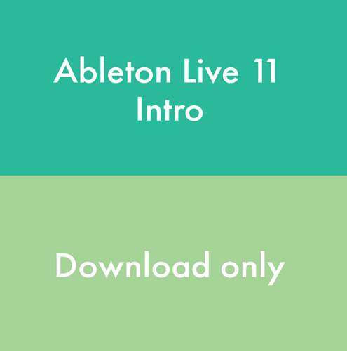 Ableton Live 11 Intro (Download, serial number only)