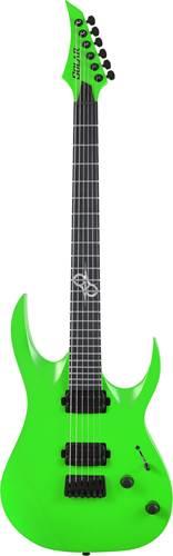 Solar Guitars A2.6GN Green Neon Matte