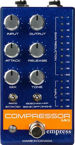 Empress Effects Compressor Mk2 Blue