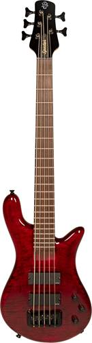 Spector Bantam 5 Short Scale Bass Black Cherry Gloss