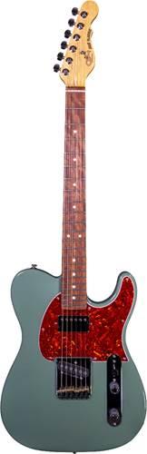 G&L USA Fullerton Deluxe ASAT Classic Bluesboy Macha Green Rosewood Fingerboard