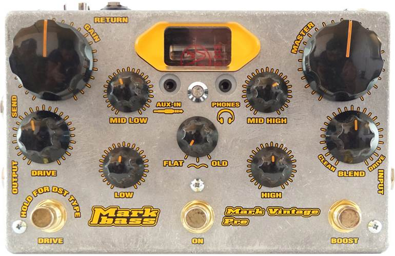 Mark Bass Vintage Pre Tube Preamp Pedal