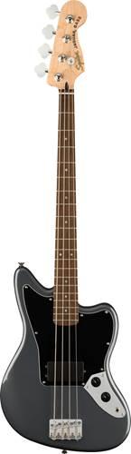 Squier Affinity Jaguar Bass H Charcoal Frost Metallic