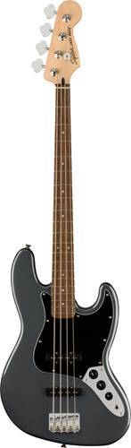 Squier Affinity Jazz Bass Charcoal Frost Metallic