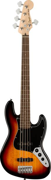 Squier Affinity Jazz Bass V 3 Colour Sunburst