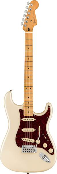Fender Player Plus Stratocaster Olympic Pearl Maple Fingerboard
