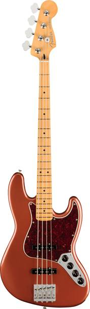 Fender Player Plus Jazz Bass Aged Candy Apple Red Maple Fingerboard