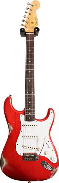 Fender Custom Shop 1959 Stratocaster Relic Faded Aged Candy Apple Red #CZ553458
