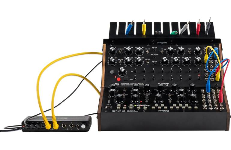 Moog Sound Studio DFAM and Mother-32