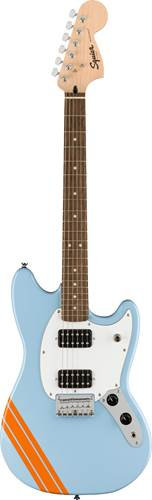 Squier FSR Bullet Competition Mustang HH Daphne Blue