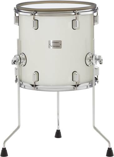 Roland PDA140F 14 Inch Tom Pad In Pearl White