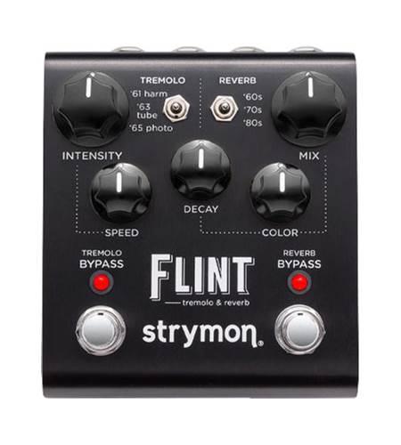 Strymon Flint Tremolo and Reverb Black Knob Edition