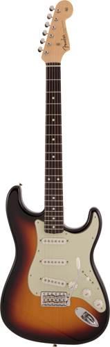 Fender Made In Japan Traditional 60s Stratocaster 3 Colour Sunburst Rosewood Fingerboard