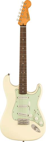 Squier FSR Classic Vibe 60s Stratocaster Olympic White Indian Laurel Fingerboard