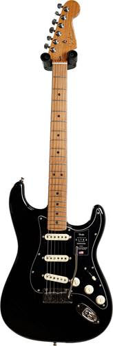 Fender FSR American Ultra Stratocaster Black with Roasted Maple guitarguitar Exclusive (Ex-Demo) #US20062770