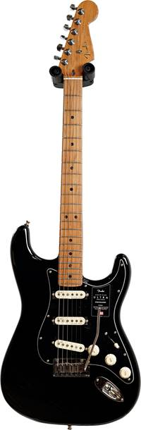 Fender FSR American Ultra Stratocaster Black with Roasted Maple guitarguitar Exclusive (Ex-Demo) #US20062740