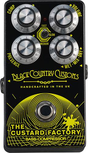 Laney Black Country Customs The Custard Factory Bass Compressor
