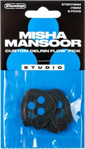 Dunlop Misha Mansoor Custom Delrin Flow Studio 0.73 Player Pack 6
