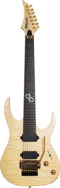 Solar Guitars SB1.7FRFM Flame Natural