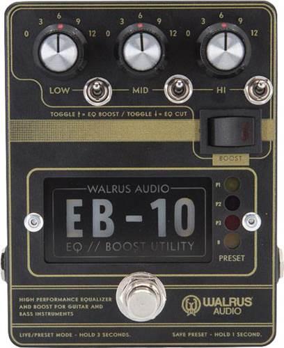 Walrus Audio EB-10 Preamp/EQ/Boost Black