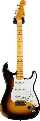 Fender Custom Shop Limited Edition 1957 Stratocaster Wide Fade 2 Colour Sunburst #CZ550162
