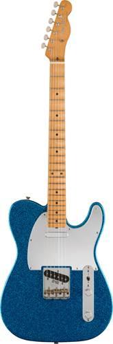 Fender Signature J Mascis Telecaster Bottle Rocket Blue Flake Maple Fingerboard