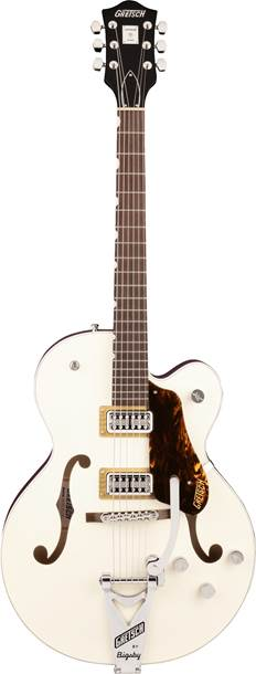 Gretsch G6118T Players Edition Anniversary Two Tone Vintage White/Walnut Satin