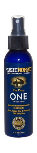 MusicNomad The Piano ONE - All in 1 Cleaner, Polish, Wax for Gloss Pianos