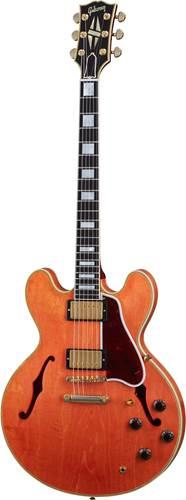 Gibson Custom Shop Murphy Lab 1959 ES-355 Reissue Stop Bar Light Aged Watermelon Red