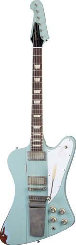 Gibson Custom Shop Murphy Lab 1963 Firebird V with Maestro Vibrola Heavy Aged Antique Frost Blue