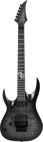 Solar Guitars A1.6AFRFB Trans Black Burst Matte Left Handed