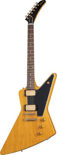 Gibson Custom Shop 58 Korina Explorer Black Pickguard Natural VOS