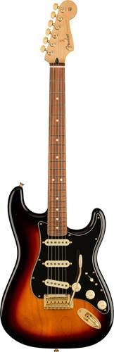 Fender FSR Tribute Stratocaster 3 Tone Sunburst Gold Hardware guitarguitar exclusive