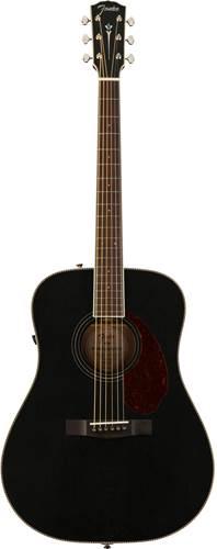 Fender Paramount PM-1E Dreadnought Mahogany Blacktop