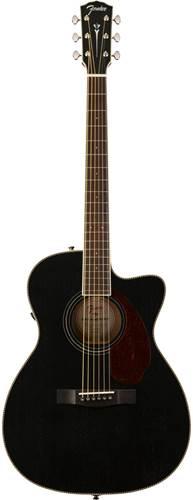 Fender Paramount PM-3CE 000 Mahogany Blacktop